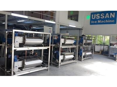 Yaprak Buz Makinası ( Deniz Suyu ) 3000 Kg / Gün