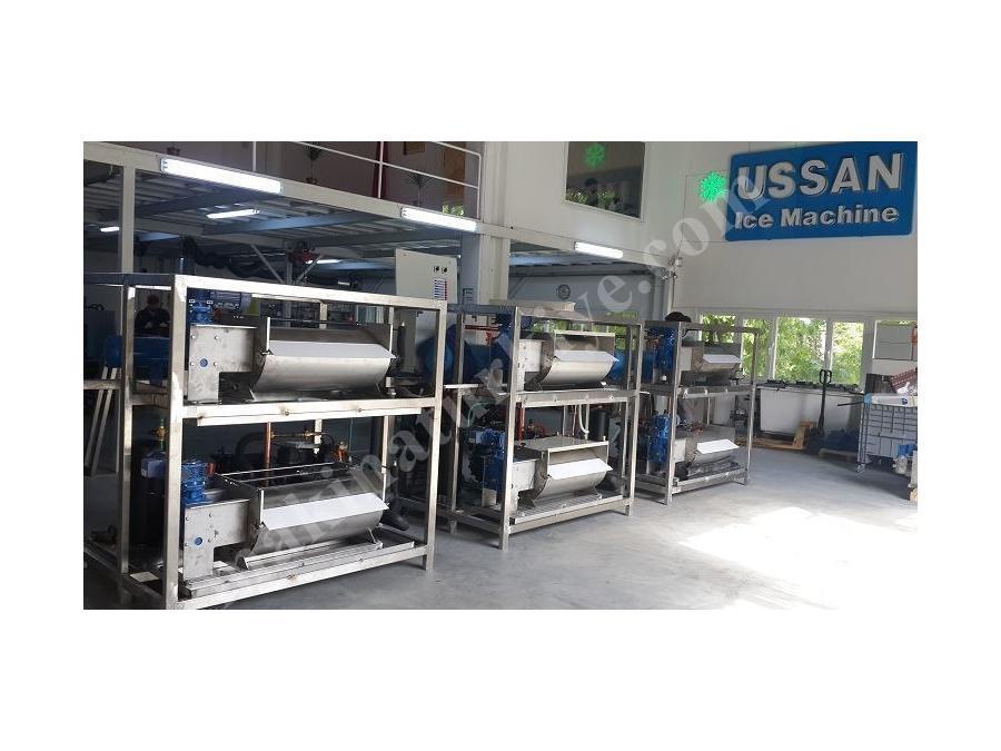 Yaprak Buz Makinası ( Deniz Suyu ) 5000 Kg / Gün