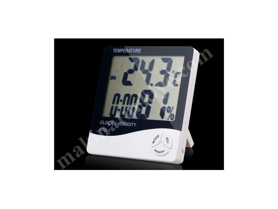 Kuluçka Makinası Dijital Isı Ve Nem Termometresi