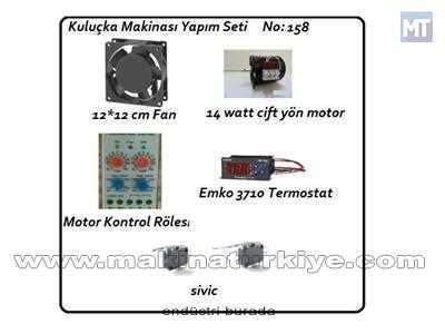 Kuluçka Makinası Yapım Seti No 158