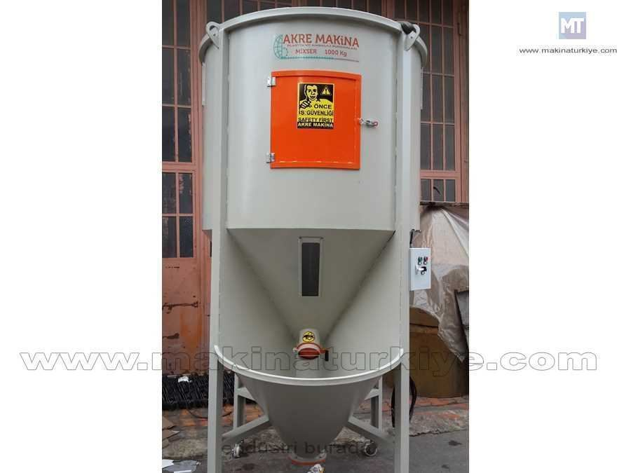 Raw Material Mixer Mixer 1000 Kg