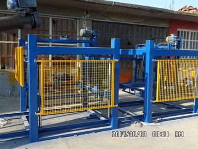 Köpük Beton Üretim Ve Kesim Makinası