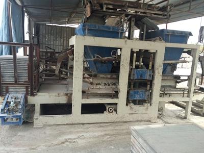 Aydınoğlu 18 Li Full Otomatik Beton Parke Makinası