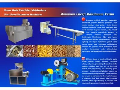 Gıda Ekstruder Makinesi DEMAG
