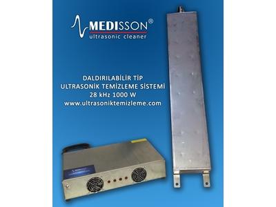 Daldırılabilir Tip Ultrasonik Temizleme Modülü Ve Jeneratör