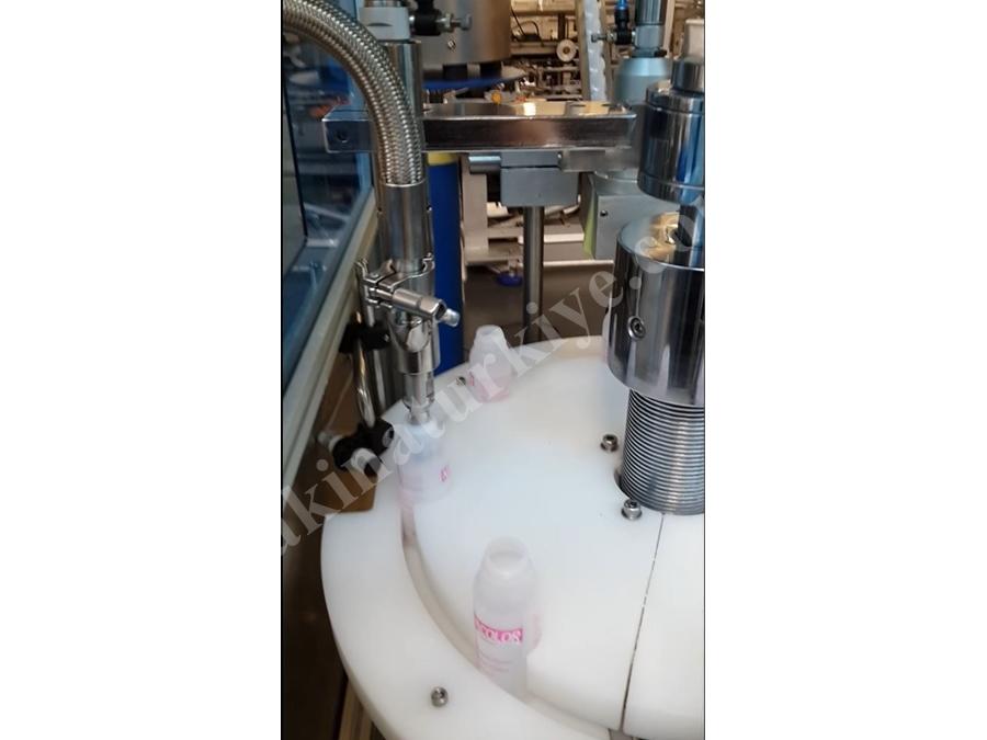 Tam Otomatik Sıvı Dolum Makinası