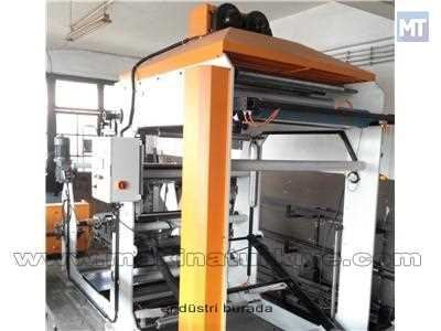 3 Renk Karton Bardak Flekso Baskı Makinesi