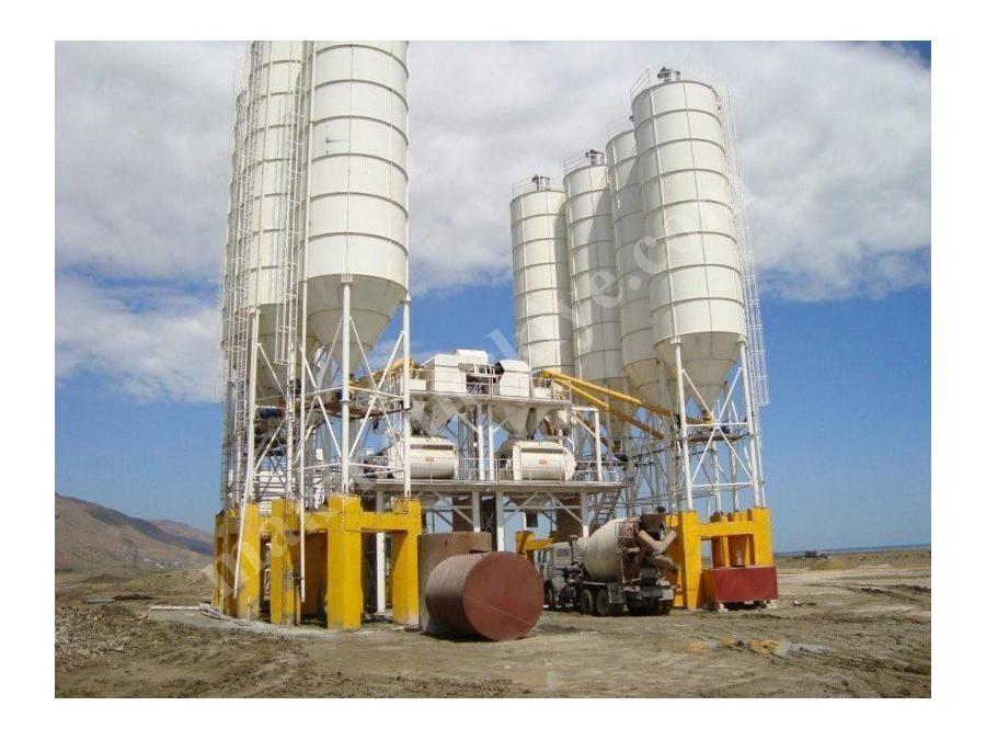 Sabit Beton Santrali Kapasite 30M³