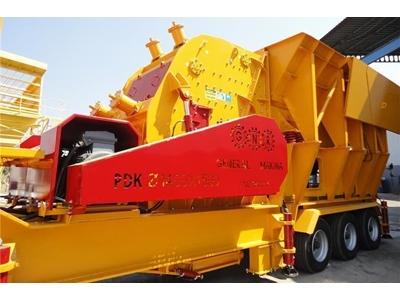 Mobil Darbeli Kırıcı - 190-290 ton / saat Mobil Darbeli Taş ve Maden Kırıcı General Makina M-PDK 02