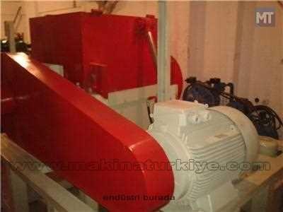 Plastik Kırma Makinası Özel Üretim