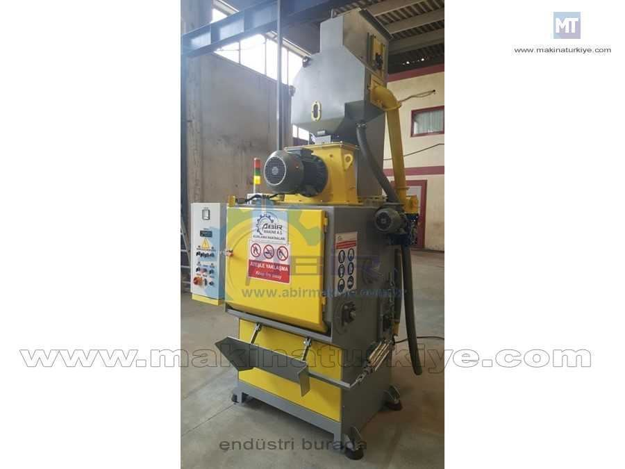 Tamburlu Kumlama Makinesi Tumble Belt Shot Blasting Machine disk çapı 900mm