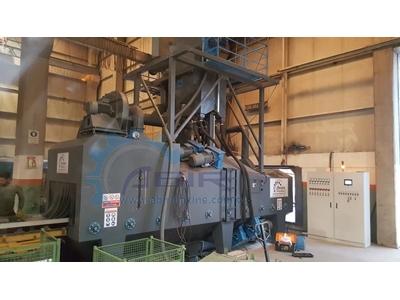 Sac ve Profil Kumlama Makinesi 8 türbin 600*1500mm