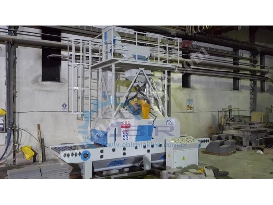 Mermer Kumlama Makinesi 2 Türbin 1000 mm