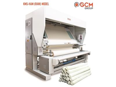 Km5-Ham Model Açık En Örgü Kumaş Kontrol Makinası