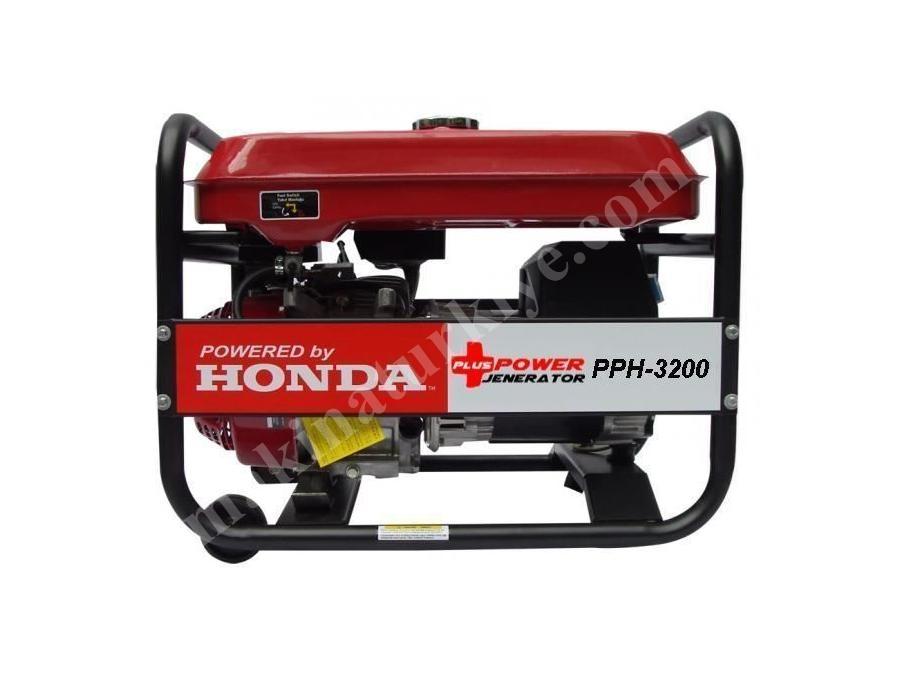 Honda Motorlu 3,2 Kva Benzinli Portatif Jeneratör