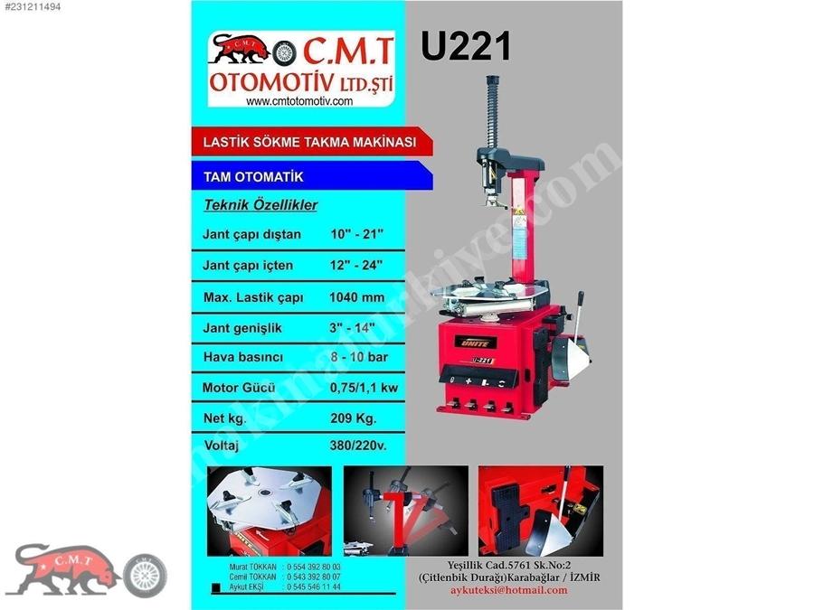 Ünıte U226 A Aparatlı Şoklamalı Lastik Sökme Takma Makinesi