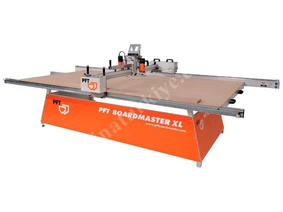Knauf PFT Boardmaster Alçı Plaka Panel İşleme Kesme Desenleme Makinası