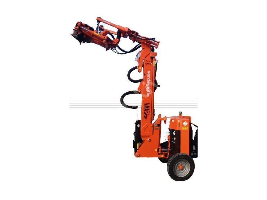 Zeytin Ceviz Fındık Hasat Makinası Ağaç Sallama Makinası