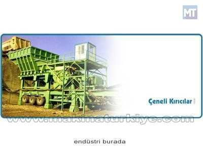 Çetaş 60-180 Ton Arası Çeneli Kırıcılı Kırma Eleme Tesisi
