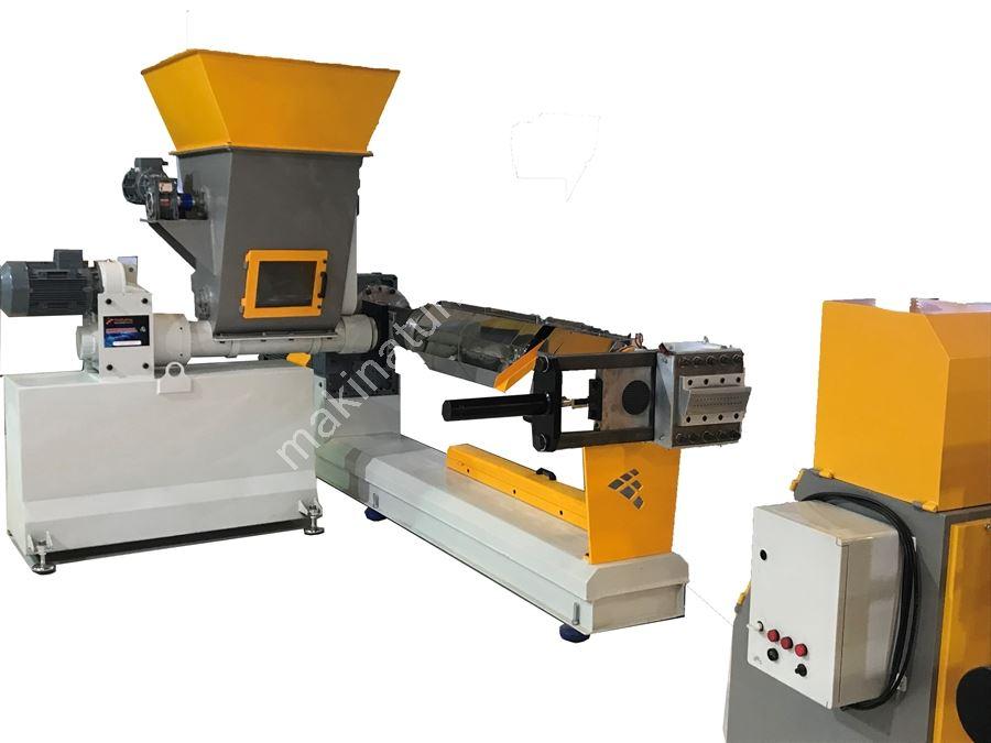 Teknoplastmak Tpm100 Granül Makinası Kapasite: 140-220 Kg/ Saat