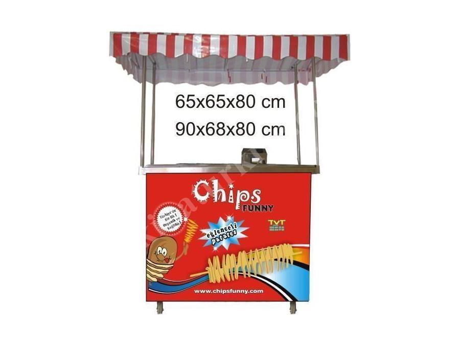 Chips Funny Tekli Çubukta Patates Standı