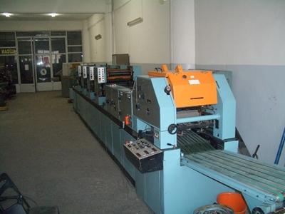 Edelmann V 38 4 Renkli Baskı Makinası