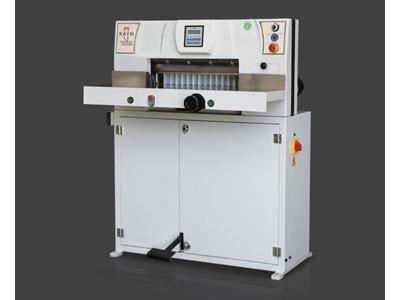 Kaym 48E Giyotin 48 cm Kağıt Kesme Makinesi