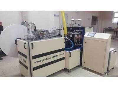 Goldpak VP100 Hijyenik Tekli Islak Mendil Makinası