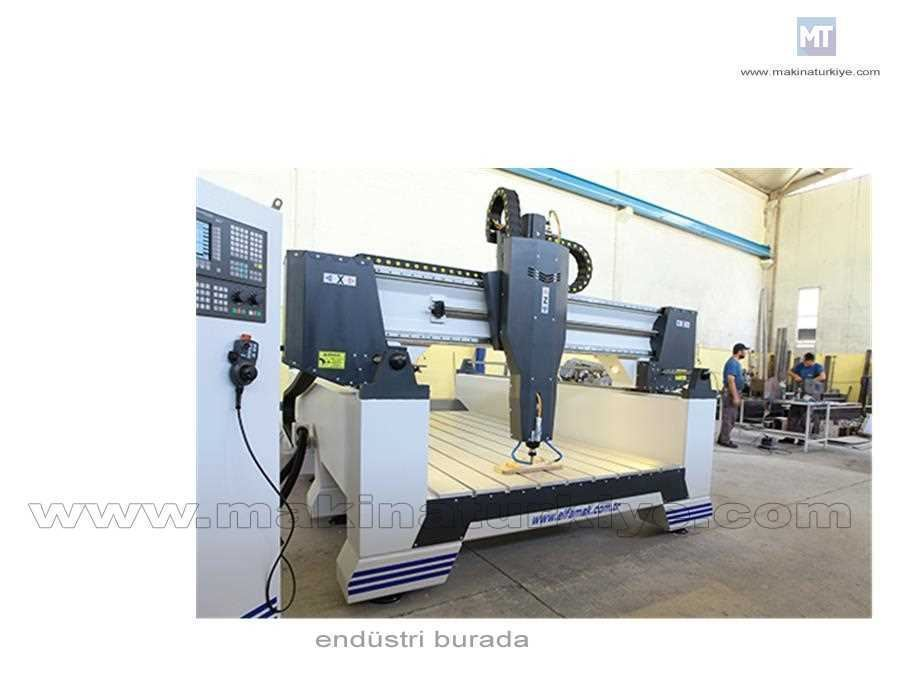 Elfamak Makina Altor 1520 1500*2000 Mm Cnc Router Desen Oyma Makinası 4