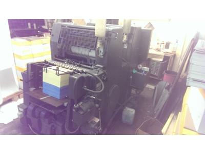Heidelberg Gto 52- Np / 2 Renk Ofset Baskı Makinası