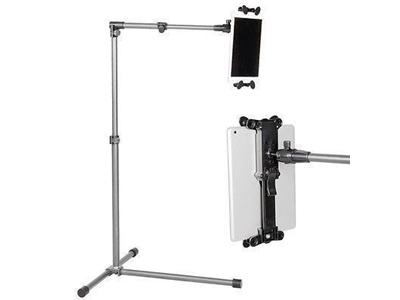 İpad-Tablet Tutucu Yükseklik Ayarlı Ayaklı Stand