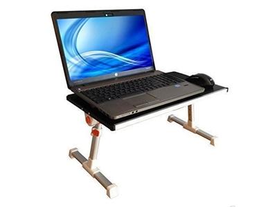 Çift Soğutuculu Alüminyum Notebook Masası-Laptop Sehpası
