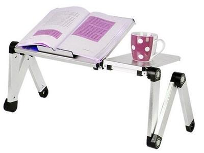 Masa Üstü-Yatak Koltuk-Ofis Çok Amaçlı Soğutuculu Laptop Sehpası
