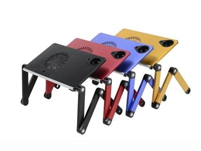 Soğutuculu Portatif Alüminyum Laptop Sehpası-Notebook Masası