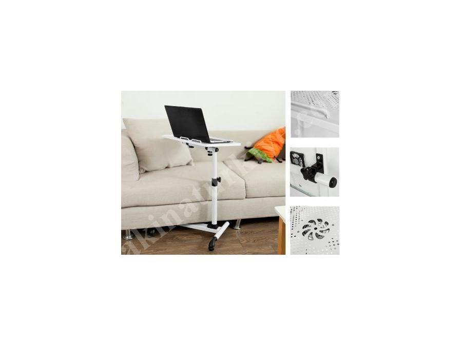Yükseklik Ve Eğim Ayarlı Soğutucu Fanlı Laptop Sehpası Masası