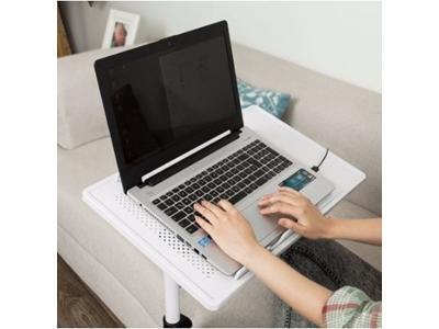 Koltuk Kenarı Yükseklik Ve Eğim Ayarlı Laptop Sehpası Masası