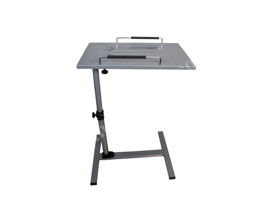 Yükseklik Ve Eğim Ayarlı Koltuk Kenarı Laptop Oyun Sehpası Masası