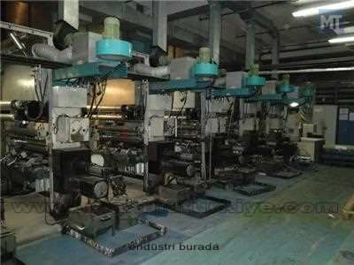 Plastomak 8 Renk 100 Cm. Shaftless Rotogravur Baskı Makinesi 1