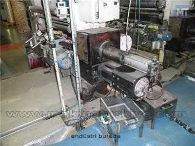 Plastomak 8 Renk 100 Cm. Shaftless Rotogravur Baskı Makinesi 2