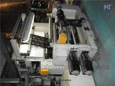 Plastomak 8 Renk 100 Cm. Shaftless Rotogravur Baskı Makinesi 4
