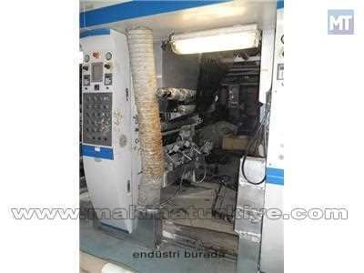 Plastomak 8 Renk 100 Cm. Shaftless Rotogravur Baskı Makinesi 6