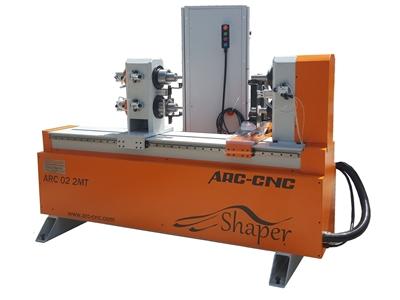 Çift Kafa Cnc Ağaç Torna Makinesi