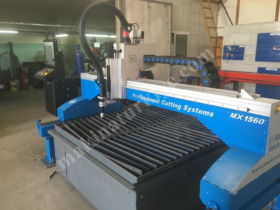 CNC Plazma Kesim Makinası  150x300 cm Hypertherm MAXI1530