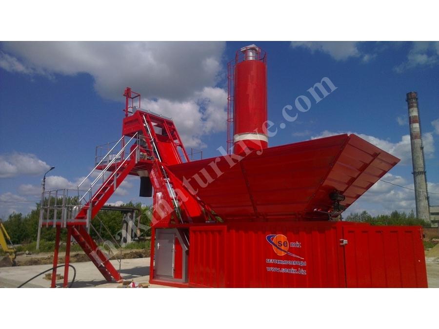 60 Ton / Saat Kapasiteli Kompakt Beton Sanrali - Semix Kompakt 60