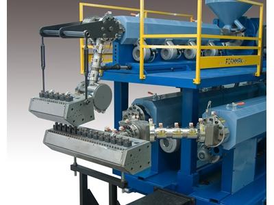Çelik Boru Üzerine Pe Plastik Kaplama Makinesi
