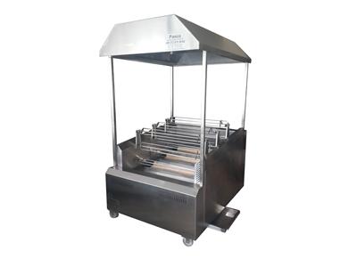 9 Şişli 45 Adet Piliç Çevirme Makinası