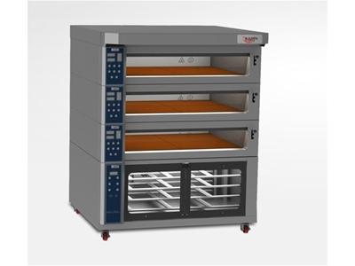 Elektrikli Katlı Fırın - Ayhan Şahin Makina Asm-Ekf120