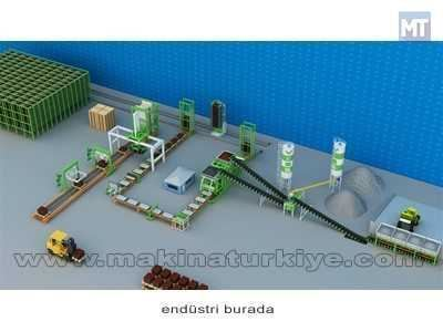 Beton Parke Ve Briket Makinası Full Otomatik Finger Car Tesis Vess 24-2