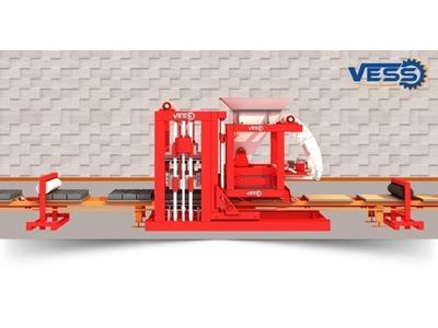 Briket Makinası Vess 18.1 Full Otomatik Fınger Car Tesis