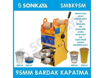 95Mm Manuel Bardak Kapatma Makinası Sonkaya Smbk95m